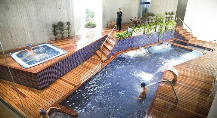Produción de Auga quente sanitaria nas instalacións dun balneario